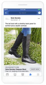 Facebook静止画広告